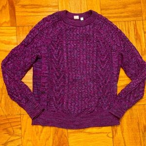 NWOT GAP Cable-knit Sweater size M